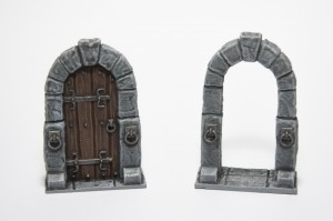 Twisting Catacombs Doors