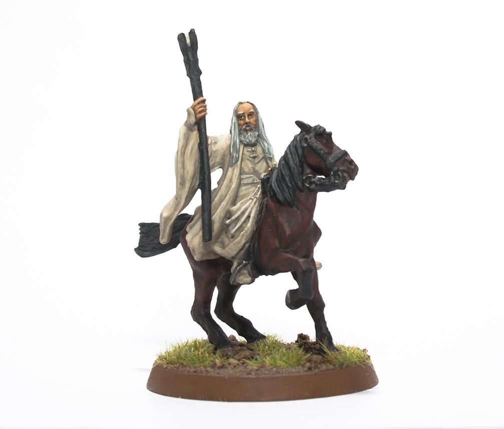 Saruman on horse